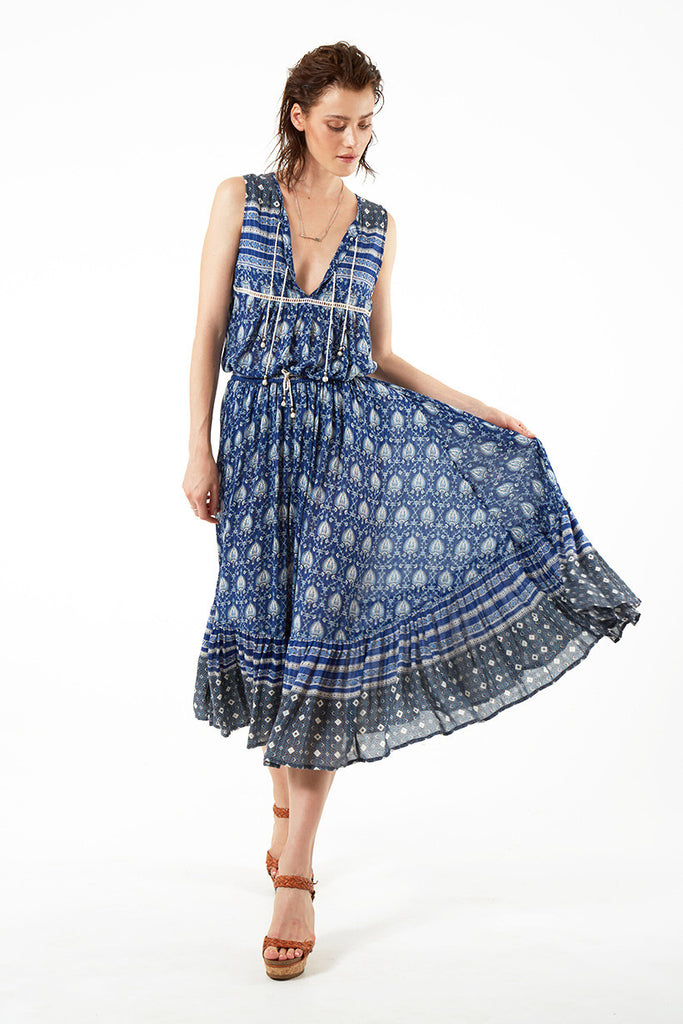 Spell Oracle Boho Skirt Indigo - Call Me The Breeze - 3