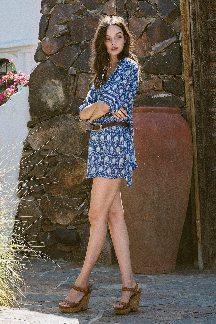 Spell Oracle Tunic Dress Indigo - Call Me The Breeze - 6