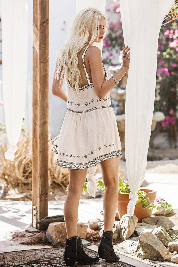 Spell Folklore Sundress Ivory - Call Me The Breeze - 2