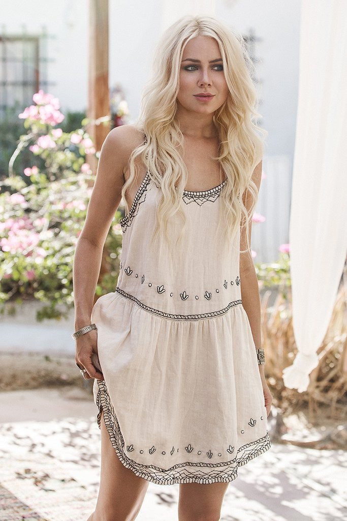 Spell Folklore Sundress Ivory - Call Me The Breeze - 3