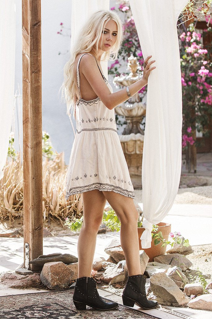 Spell Folklore Sundress Ivory - Call Me The Breeze - 4