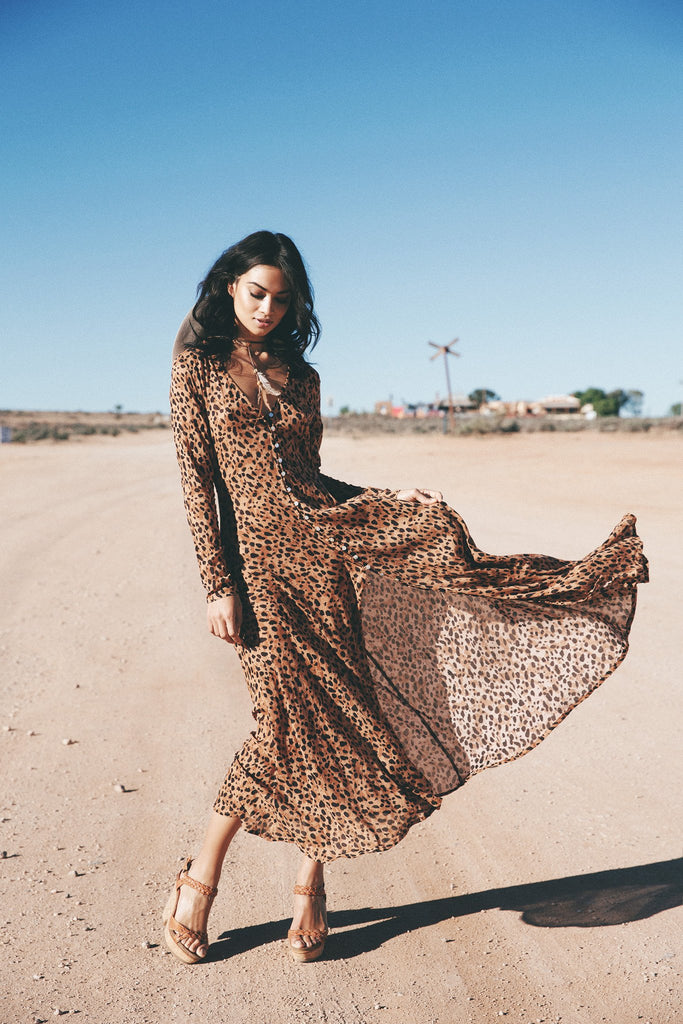 Spell Saphari Gown – Call Me The Breeze