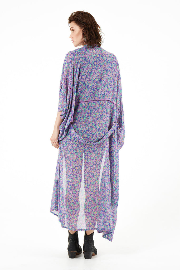 Spell Wildflower Maxi Kimono - Call Me The Breeze - 3