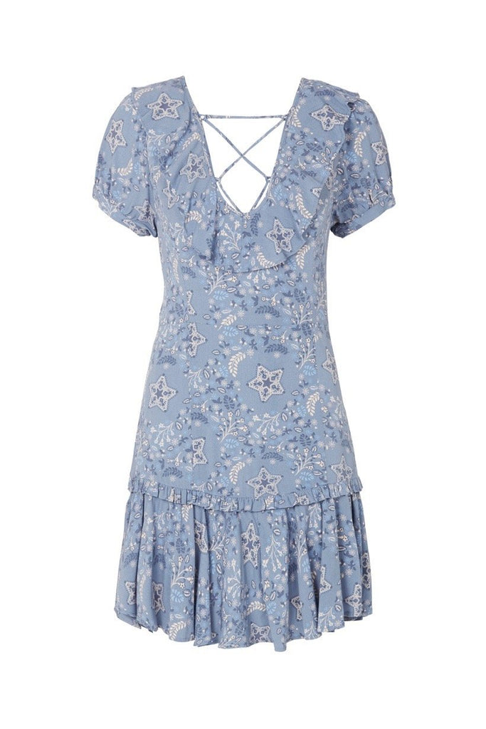Spell Celestial Play Dress Chambray