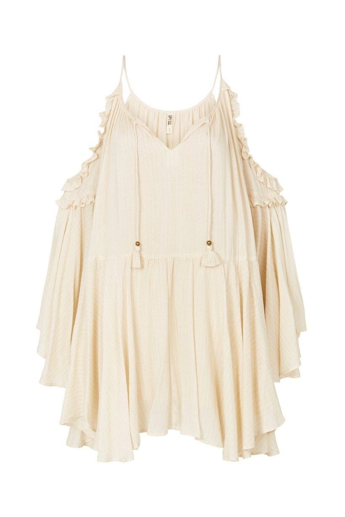 Spell Florence Mini Dress Creme Brulee