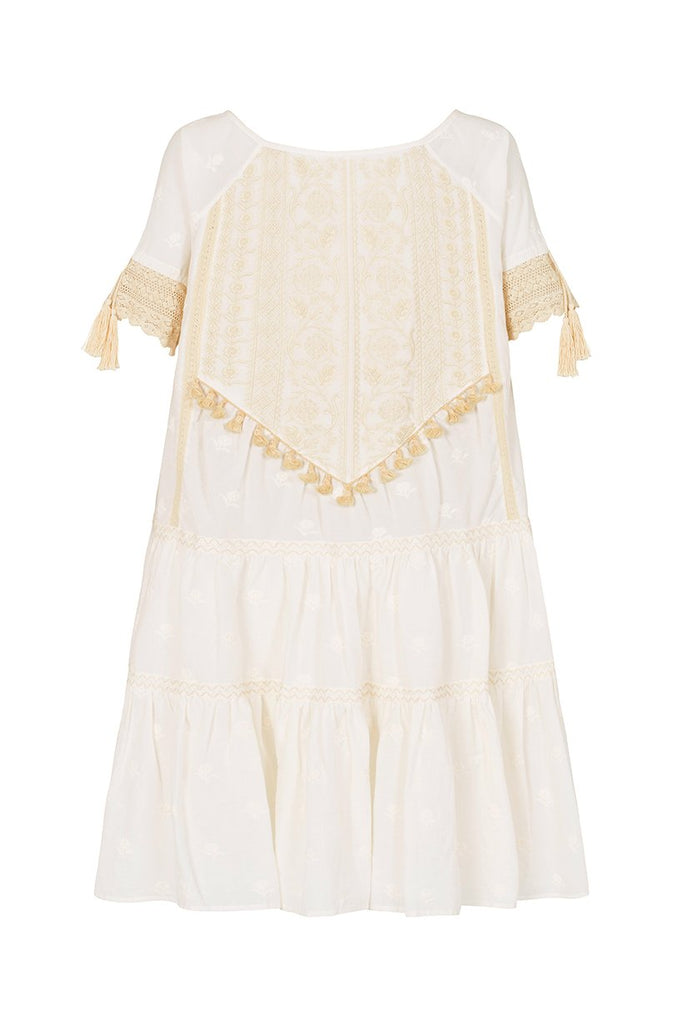 Spell Cassidy Mini Dress White