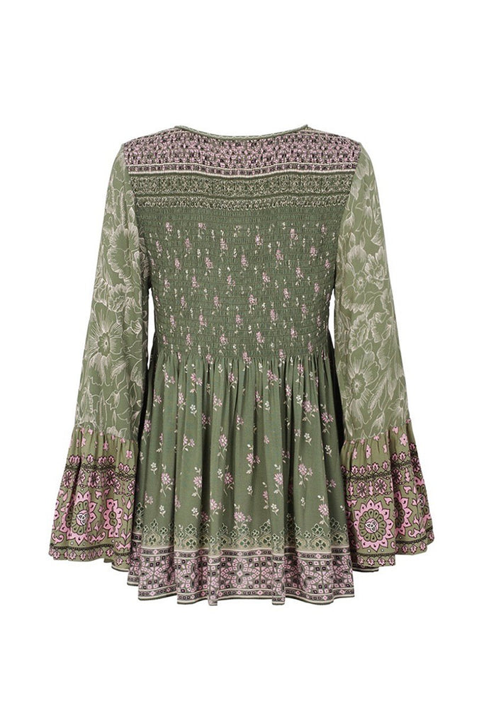 Spell Lionheart Blouse Olive Grove
