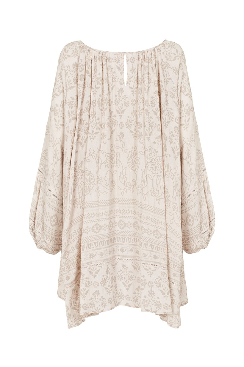 Spell Moroccan Luxe Dress Sand
