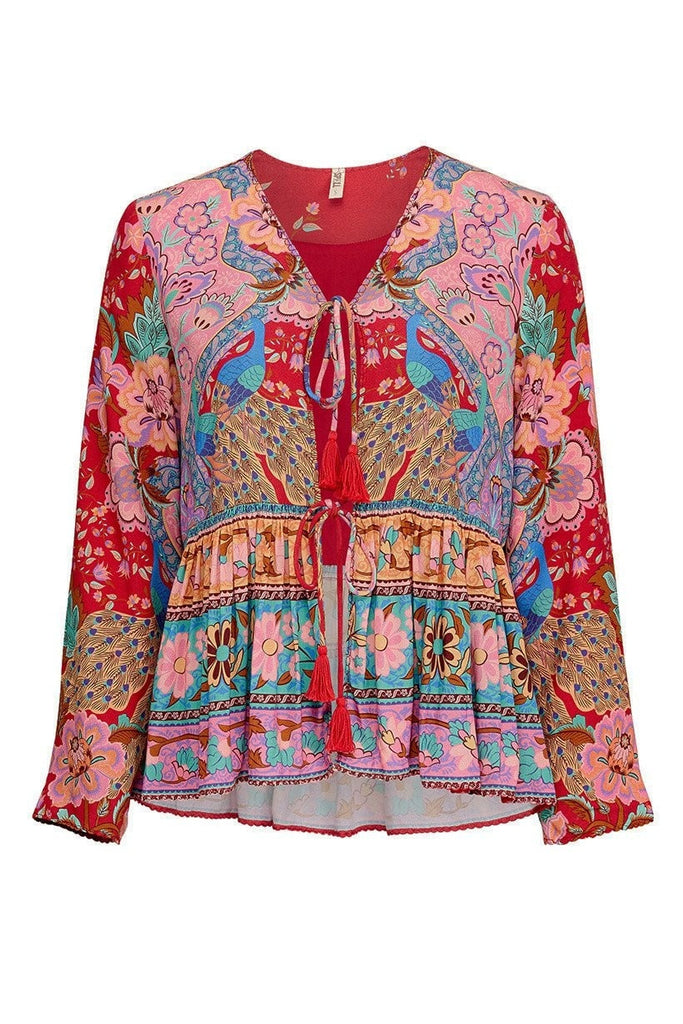 Spell Lotus Jacket Ruby