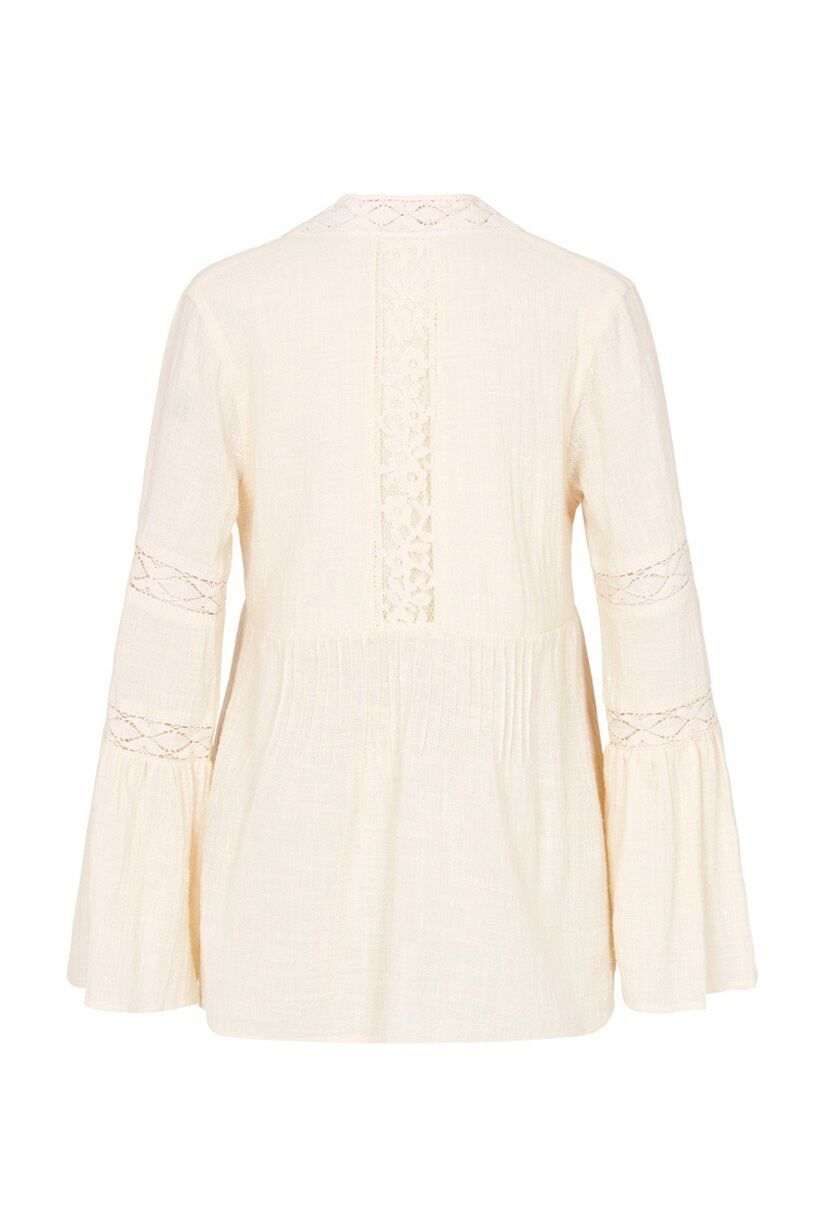 Spell Doe Eyed Blouse Cream