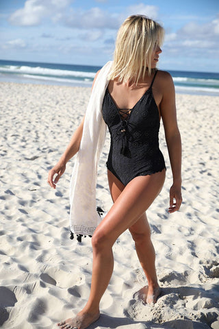 Spell Alena Luxe One Piece Black