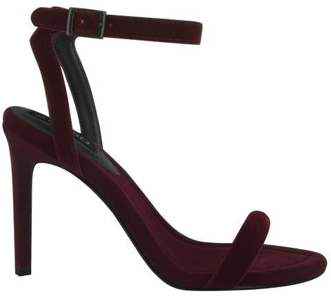 Senso Tyra Velvet Heels Wine - Call Me The Breeze - 1