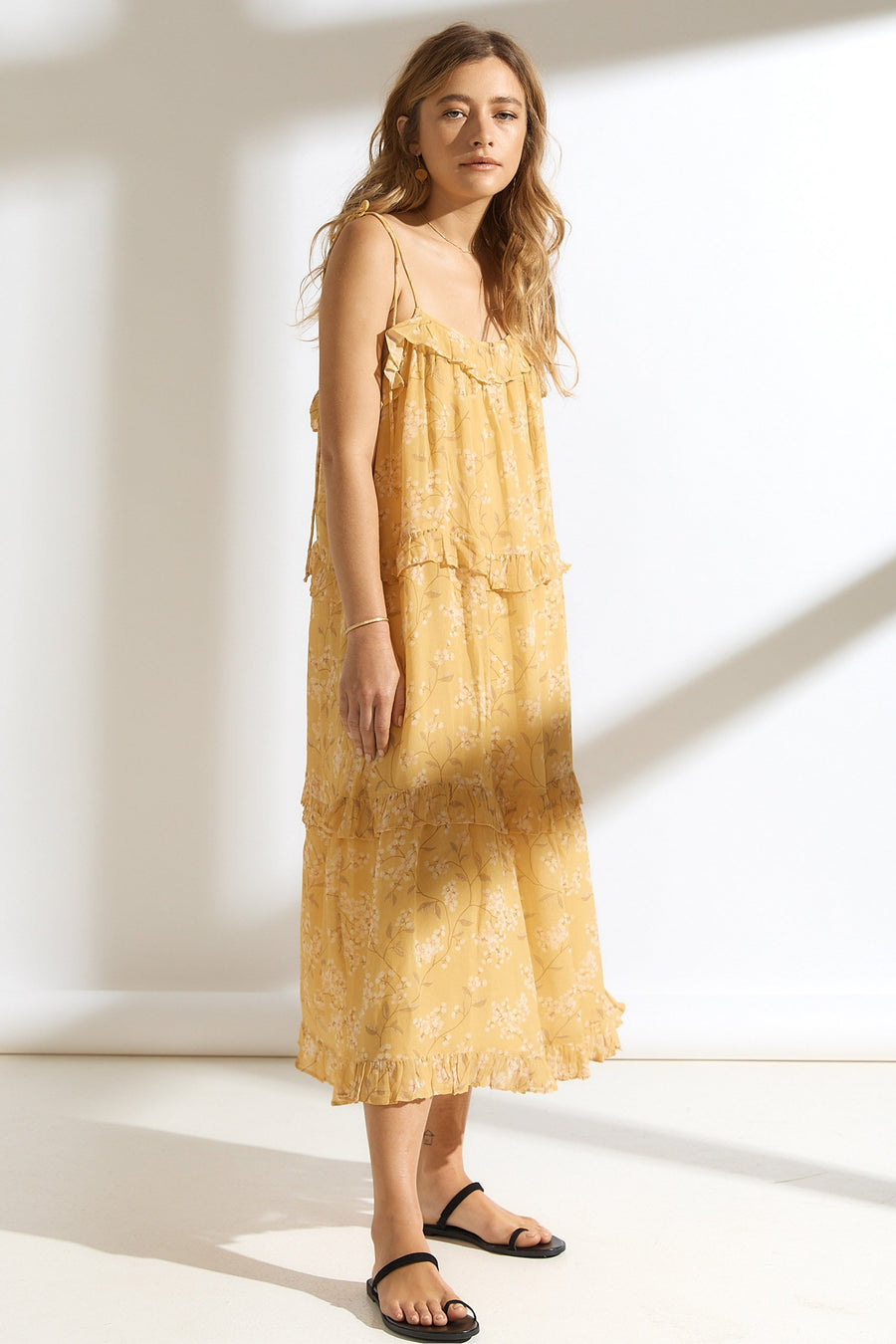 Saint Helena Teresa Summer Dress Lemon Blossom