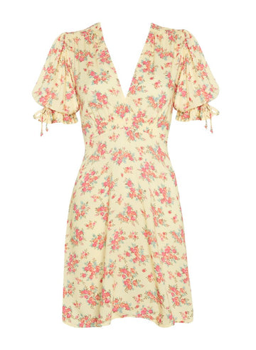 Faithfull The Brand Tonia Mini Dress Sunday Floral Print