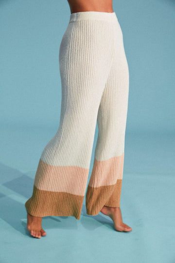 Zulu and Zephyr Neapolitan Knit Pant Print