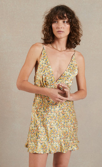 Bec and Bridge Golden Fields Mini Dress