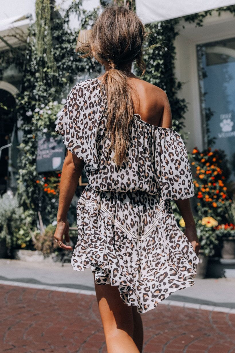 Spell Bodhi Leopard Mini Dress