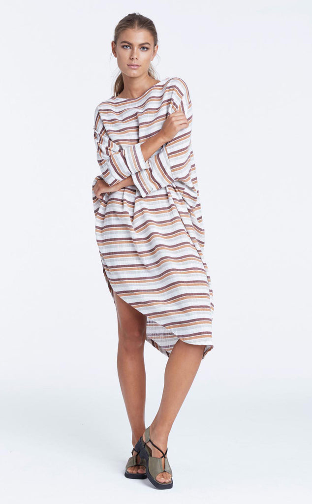 Zulu and Zephyr Terra Firma Dress Stripe - Call Me The Breeze - 5