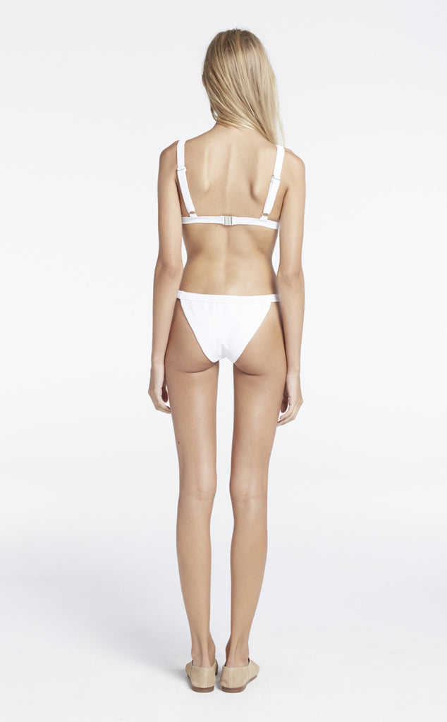 Zulu and Zephyr Northerly Harness Bikini White // PREORDER - Call Me The Breeze - 3