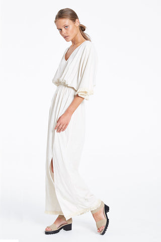 Zulu and Zephyr Dust Tassel Maxi Natural
