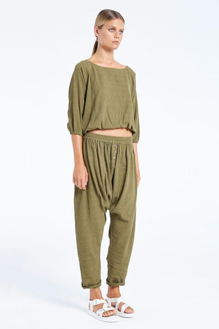 Zulu and Zephyr Fern Pant Khaki
