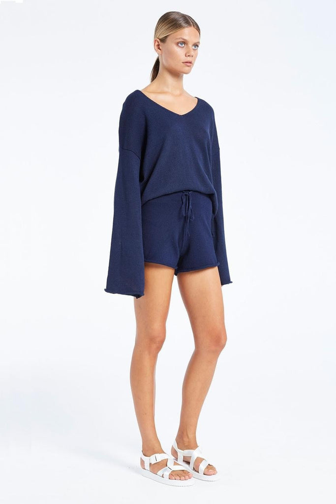 Zulu and Zephyr Chill Knit Short Navy