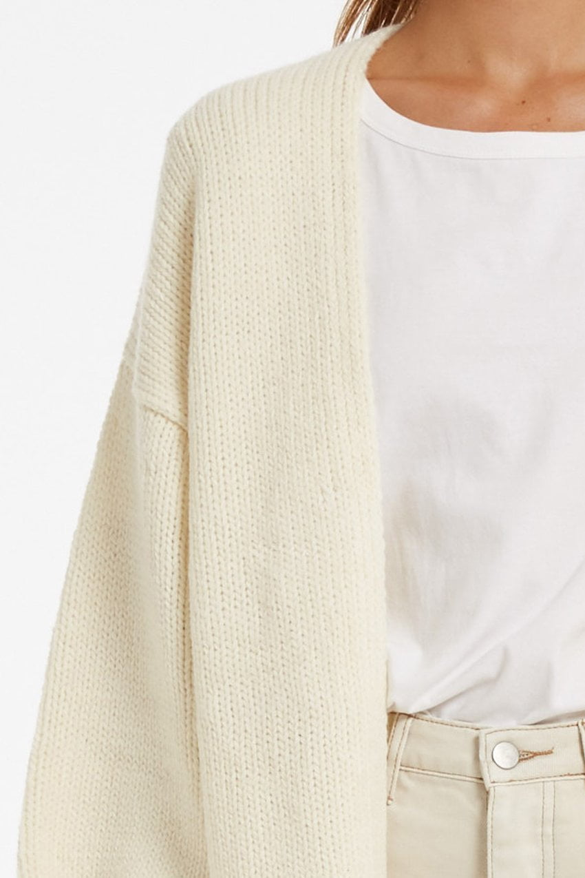 Zulu and Zephyr Lush Cardi Warm White