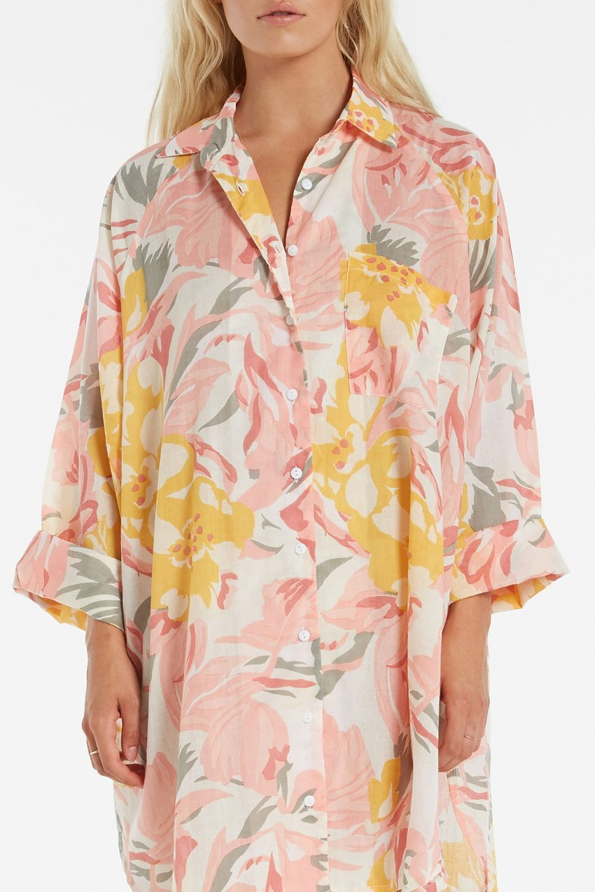 Zulu and Zephyr Blossom Shirt Dress Print
