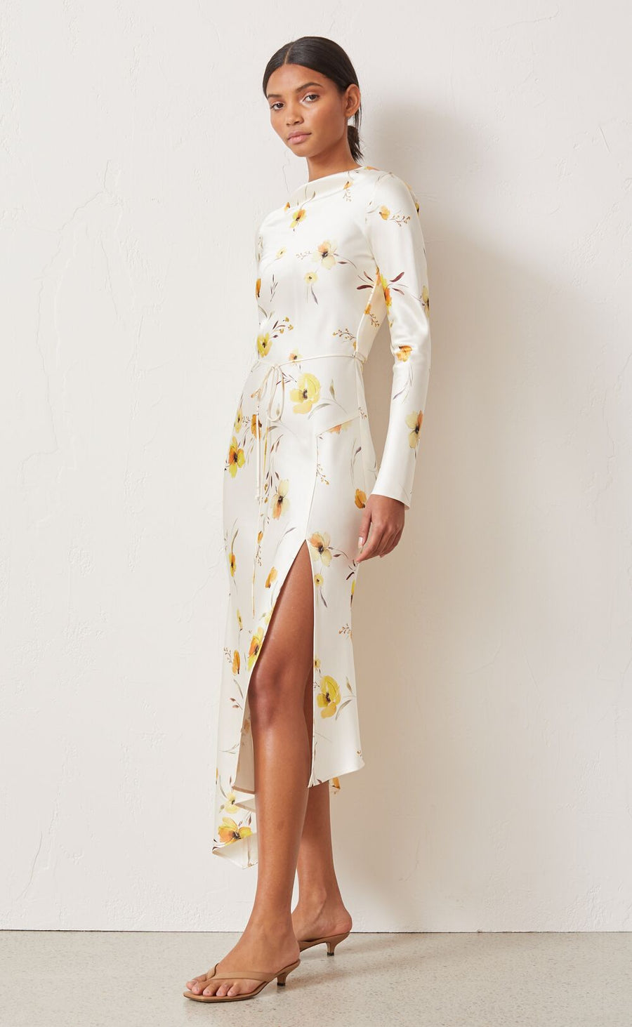 Bec and Bridge Colette Long Sleeve Midi Dress