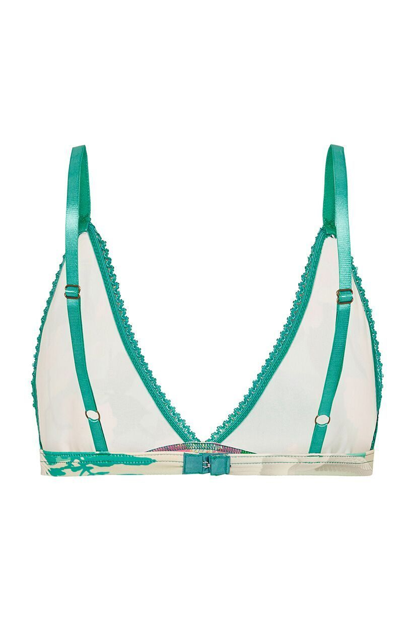 Spell Nightingale Tri Bralette Green