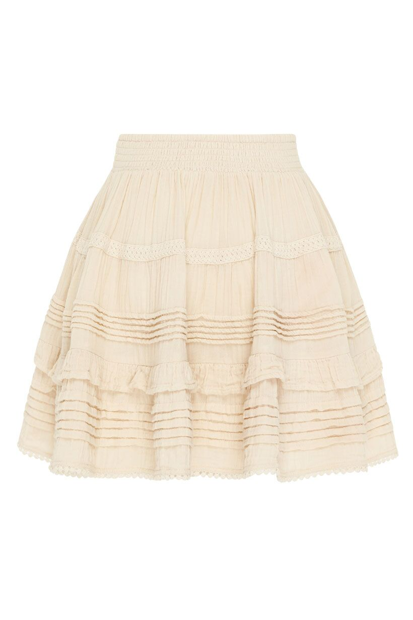 Spell Hanalei Mini Skirt Sand