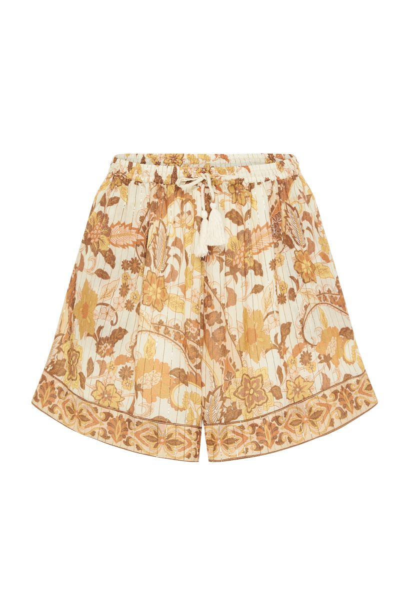 Spell Hendrix Shorts Cream