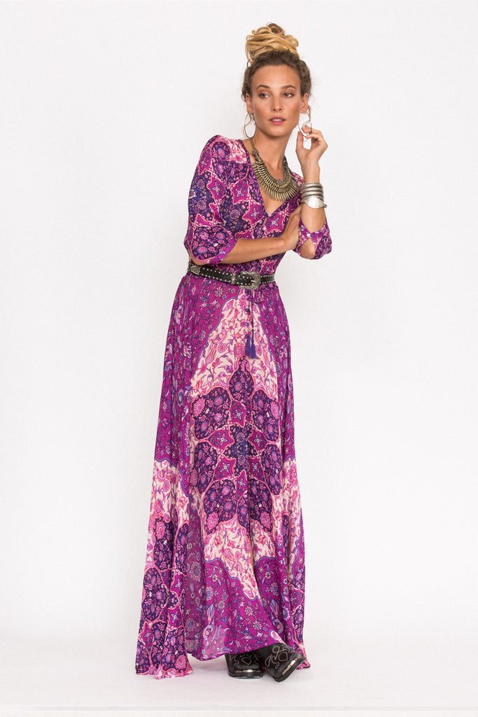 Spell Kiss The Sky Gown Violet - Call Me The Breeze - 3