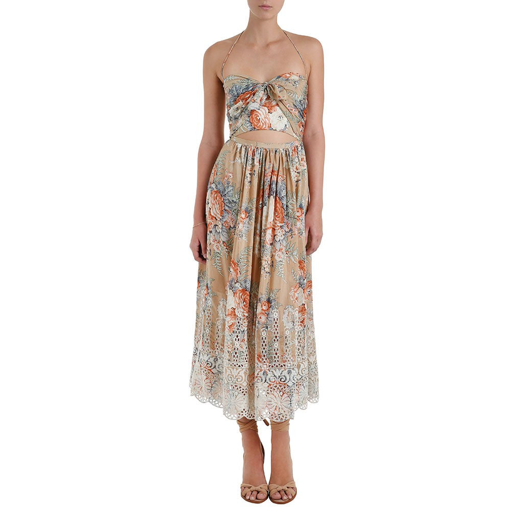 Zimmermann Anais Floral Tie Dress - Call Me The Breeze - 2