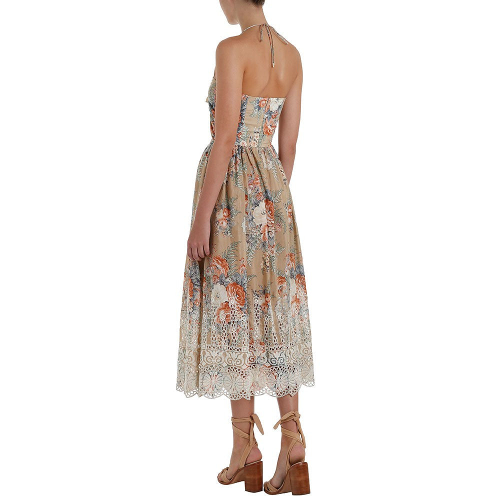 Zimmermann Anais Floral Tie Dress - Call Me The Breeze - 5