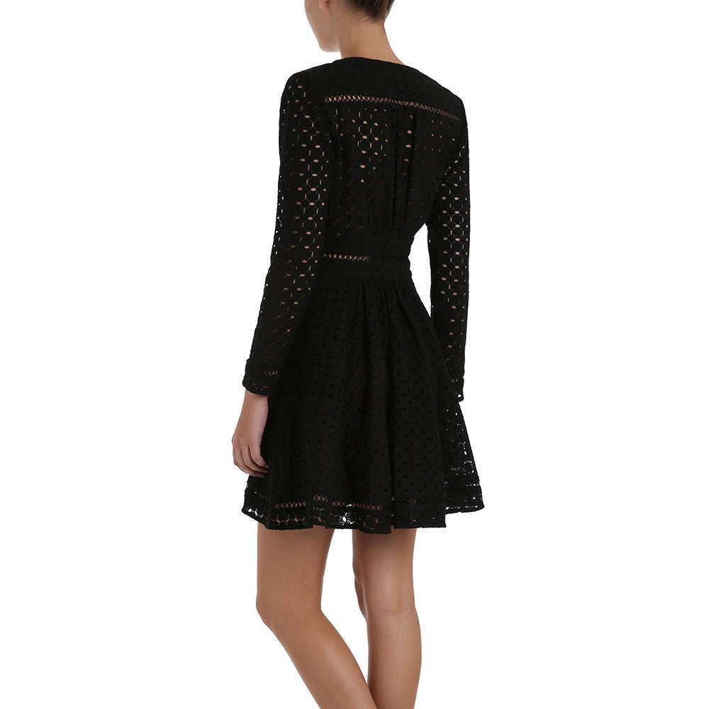 Zimmermann Ryker Broderie Dress Noir - Call Me The Breeze - 5