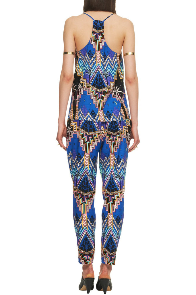 Mara Hoffman Slouch Pant Pyramid Night - Call Me The Breeze - 2