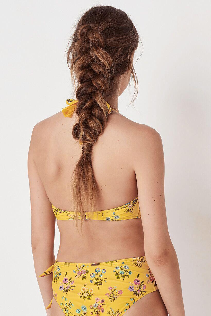 Spell Posy Knot Bandeau Buttercup