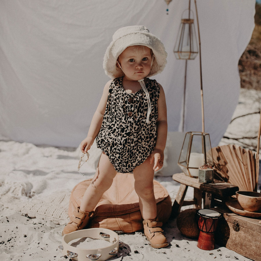 Children of the Tribe Safari Singlet Onesie