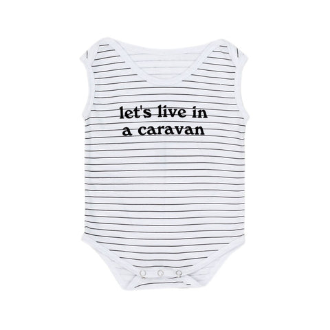 Children Of The Tribe Caravan Singlet Onesie