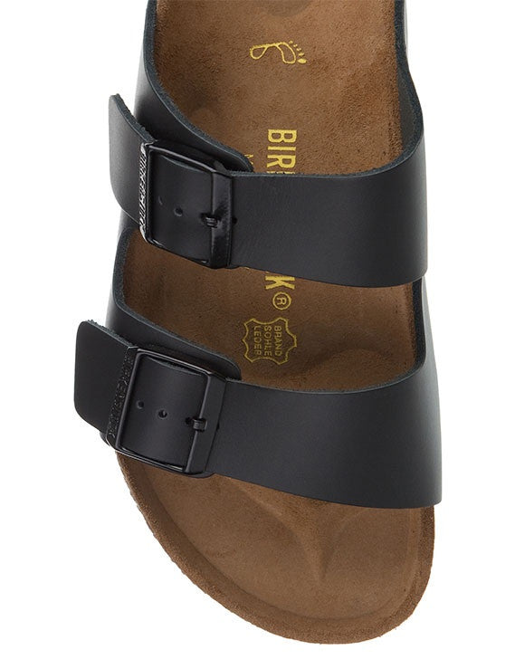 Birkenstock Arizona Black Smooth Leather - Call Me The Breeze