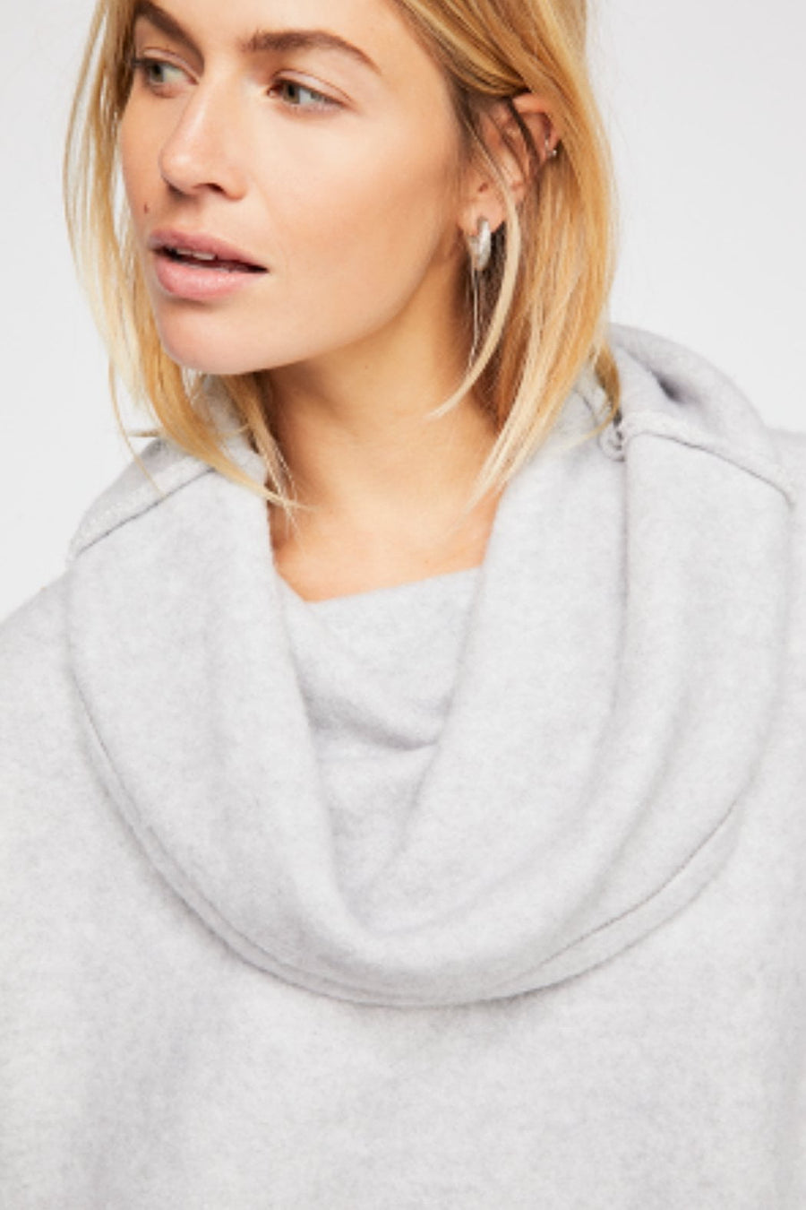 Free People Huntington Pullover Grey