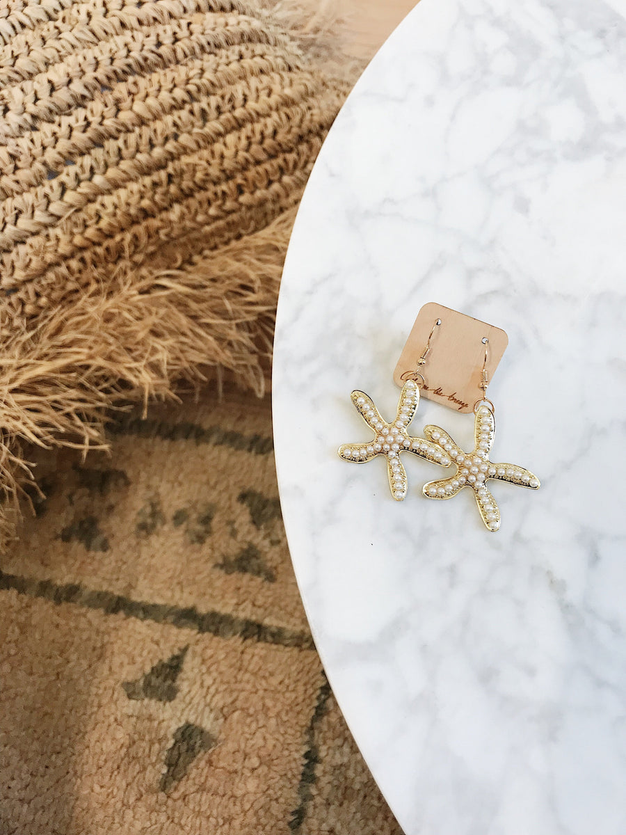 Dree Starfish Earrings
