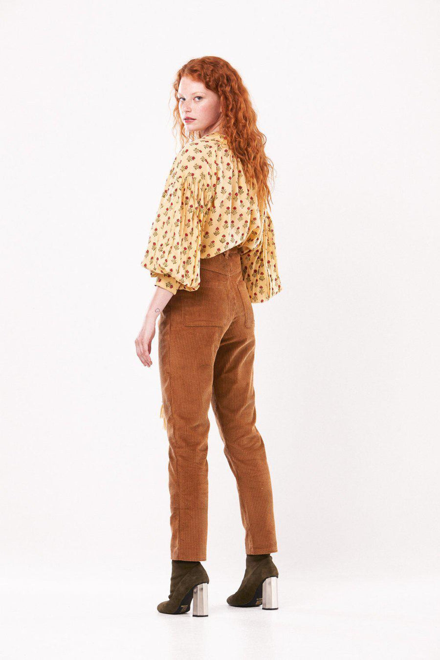 Kinga Csilla Cord Pants Latte