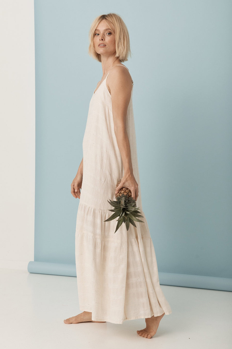 Saint Helena Freesia Dress Cream