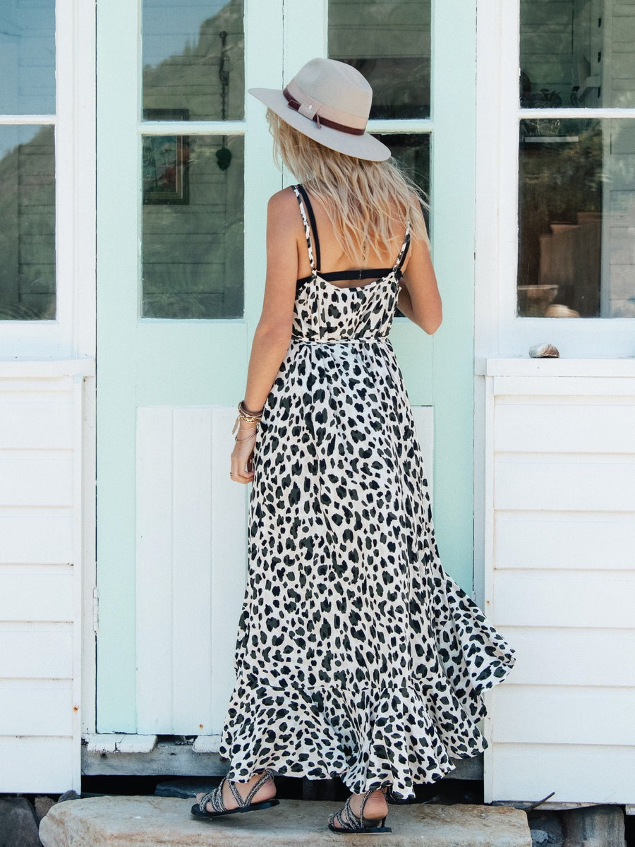 Kivari Nevada Leopard Maxi Dress