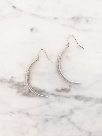 Call Me The Breeze Alex Hook Earrings Silver - Call Me The Breeze - 1
