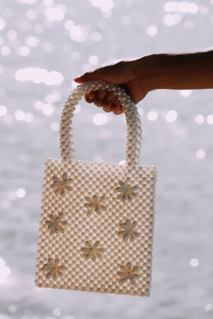 Effie Pearl Beaded Bag