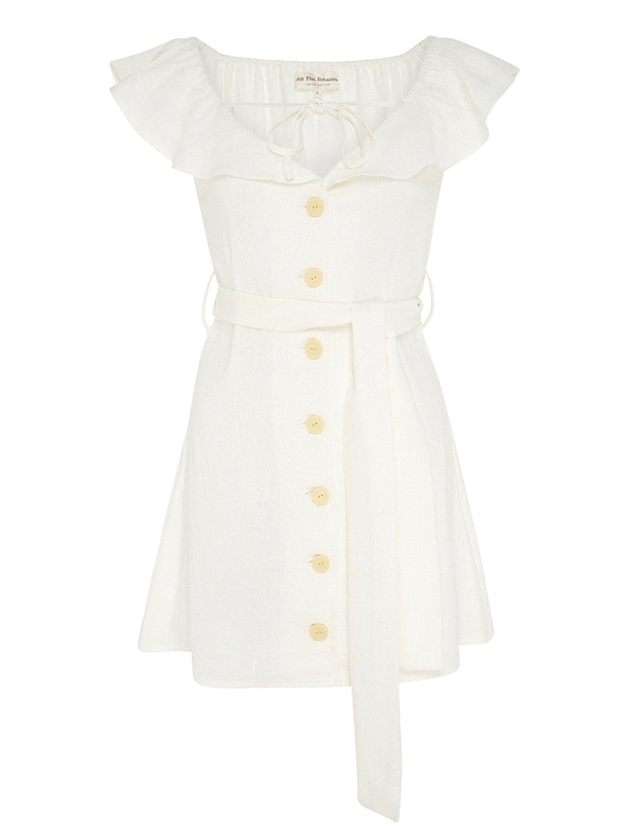 All that Remains Sophia Dress Cream