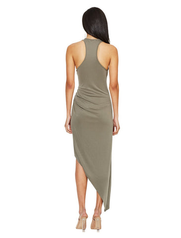 Bec and Bridge Earth Warrior Racer Dress Khaki